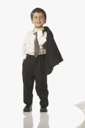 Kid in Suit